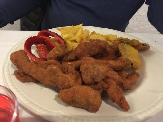Riudarenes, Espanha: Raciones muy grandes , la comida está muy muy buena 100%% recomendable precio genial!!! Crema ca
