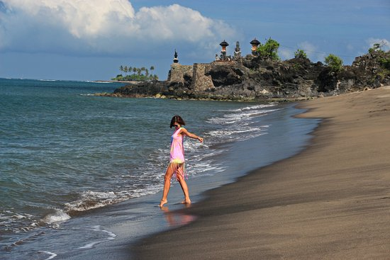 Senggigi Beach: пляж