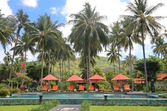 Desa Sekotong Barat, Indonesia: пляж