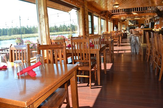 Island Park, ID: fabulous dining