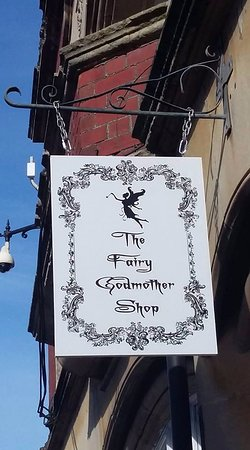 The Fairy Godmother Shop 20 Town Street Shepton Mallet - Sweets, Fairies, Cards