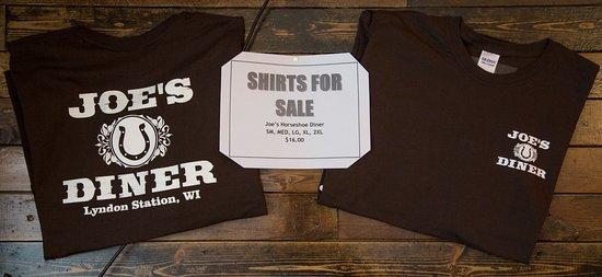 Lyndon Station, Wisconsin: Joe's shirts