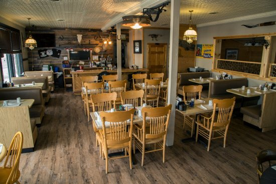 Lyndon Station, WI: Joe's main dining room