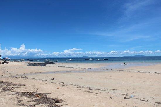 Ambatoloaka, Madagaskar: vue mer du resto