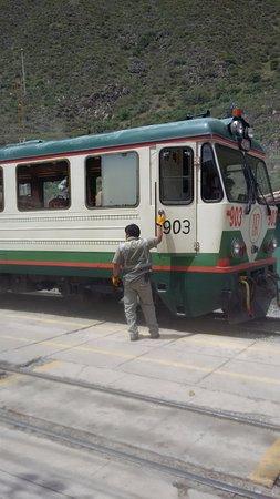 Inca Rail: Trem.