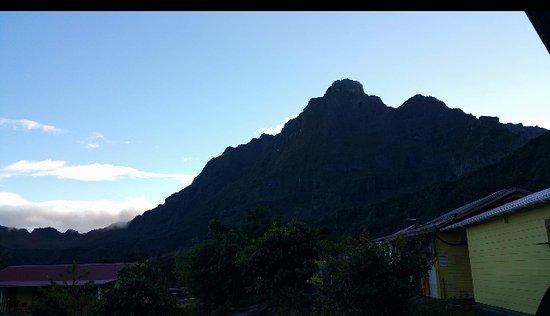 Saint-Paul, Reunion Island: vue de la chambre