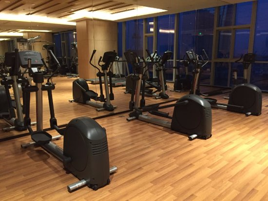 Zibo, Cina: Gym-time!
