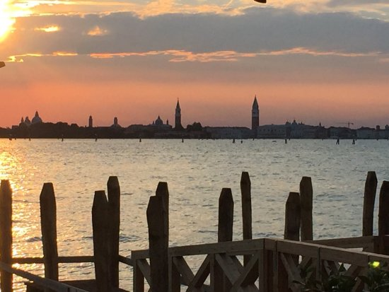 Lido di Venezia, Włochy: Essentiale Restaurant & Lounge Bar_Lagoon view