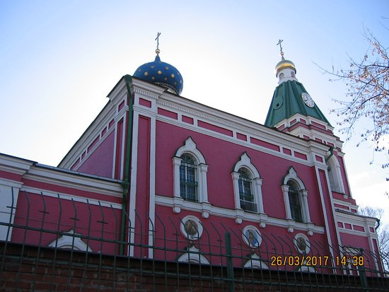 Temple of the Nativity of the Blessed Virgin in the Trubetskoy