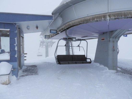 Malbun, Liechtenstein: 降り場の様子