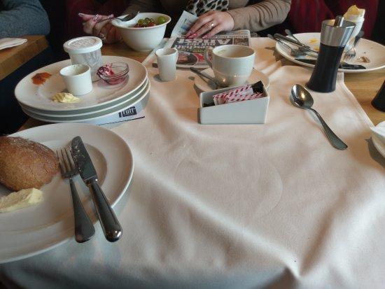 Melchsee-Frutt, سويسرا: Frühstückstisch (siehe Bewertung)