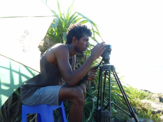 Ahangama, Sri Lanka: Video analysis is a core part of our coaching our coaching