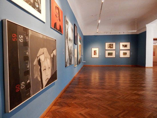 Maribor Art Gallery : Central part of the exhibition