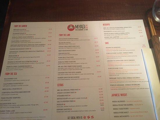 miyagi japanese restaurant liverpool