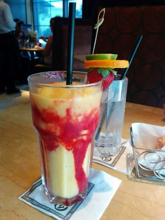 The Cheesecake Factory: This was a mango smoothie drink that I ordered and it was amazing!!!
