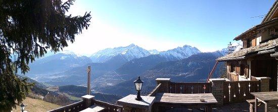 Saint Nicolas, Italia: Terrazza esterna