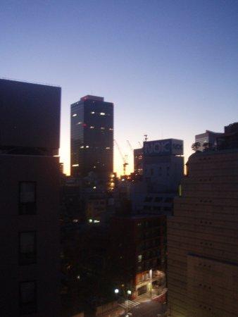 Shiba Park Hotel: Восход в 6:30 по Токийскому веремени