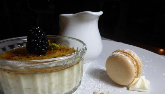 Rugby, UK: Elderflower Rice Pudding