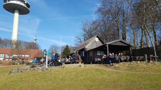 Schotten, Germania: Zur schönen Aussicht (Imbiss - Kiosk - Sonnenterrasse)
