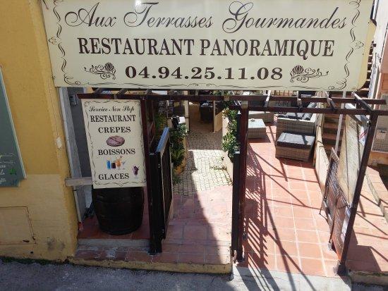 Le Castellet, Prancis: Aux terrasses Gourmandes