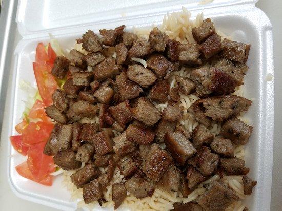 เอลลิคอตต์ซิตี, แมรี่แลนด์: Lamb over Rice  (Lamb Gyro Platter)