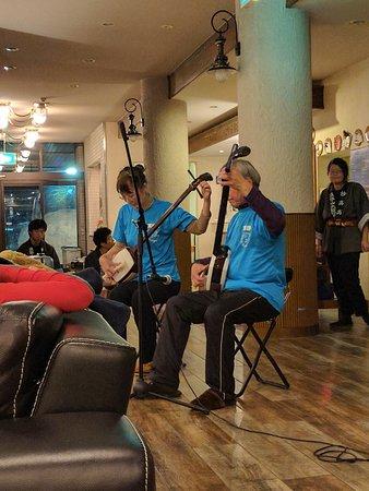 Myoko, Japonya: Sanmisen performance