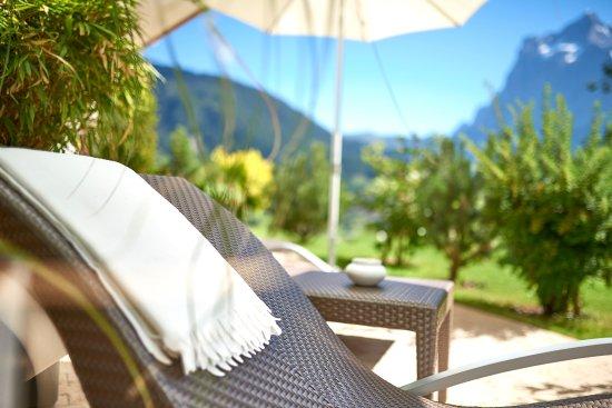 Aspen Alpin Lifestyle Hotel Grindelwald: Spa-Terrasse