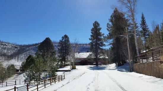 The Greer Peaks Lodge: widok z zewnątrz