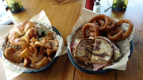 Dayton, TN: Chicken Salad & Reuben