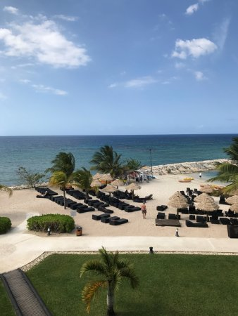 Secrets St. James Montego Bay: View from our room