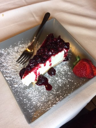 Merate, Italia: cheesecake