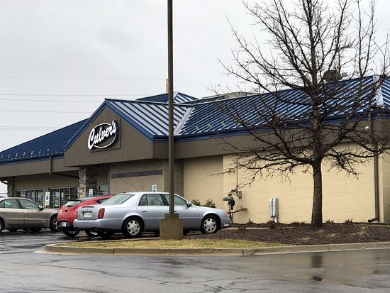 ‪‪Merrillville‬, ‪Indiana‬: front of & entrance to Culver's‬