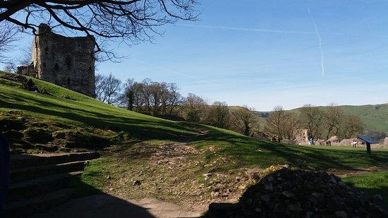 Castleton, UK: the Motte