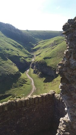 Castleton, UK: View from the rear