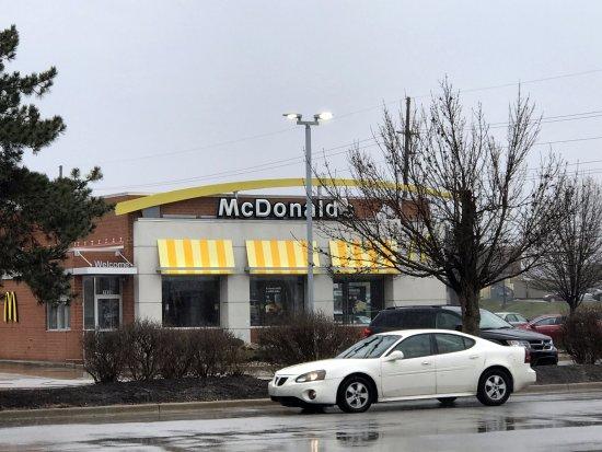Merrillville, IN: front of McDonald's