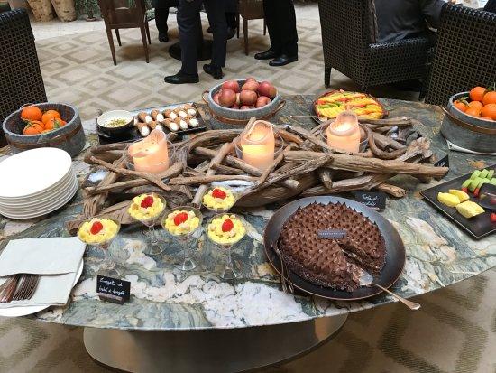 Park Hyatt Milan: Dessert buffet