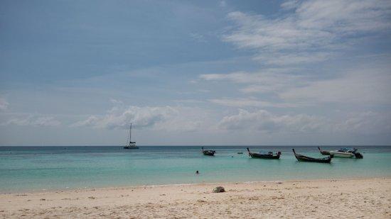 Mali Resort Pattaya Beach Koh Lipe: From the restaurant