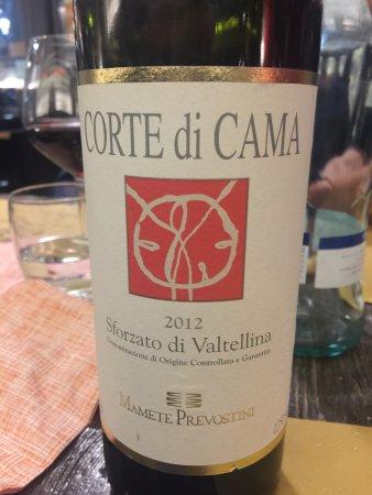 Albosaggia, Itália: Valtellina's red wine