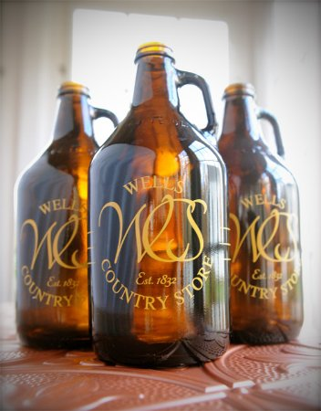 Wells, VT: Did you know that we sell growlers and howlers of unique and hard to find beers?