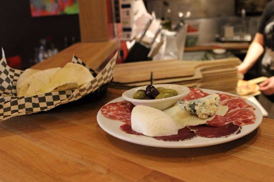 Yelm, WA: Antipasto: mix of luxurious cheeses and meats