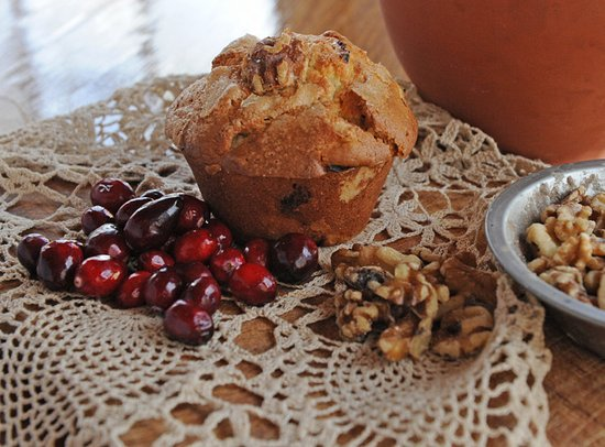 Wells, VT: A seasonal favorite: Cranberry Walnut. Made here. By scratch. Daily.