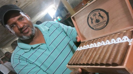 Bayahibe, Dominican Republic: quelques beaux cigares!!