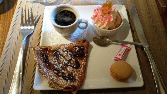 Magne, França: Café gourmand