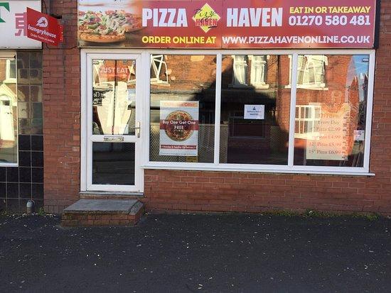 Crewe, UK: Pizza Heaven