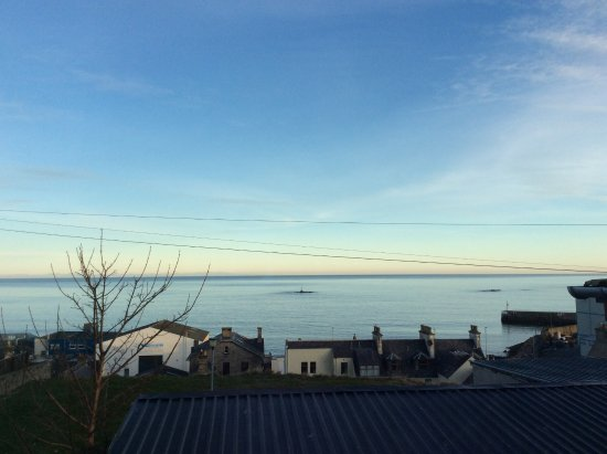 Buckie, UK: View over Moray Firth.