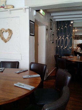 Rolleston on Dove, UK: The Restaurant