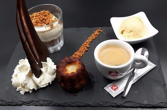 Bourg, França: Café vraiment gourmand