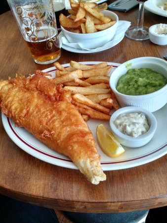 Rolleston on Dove, UK: Delicious Fish and Chips