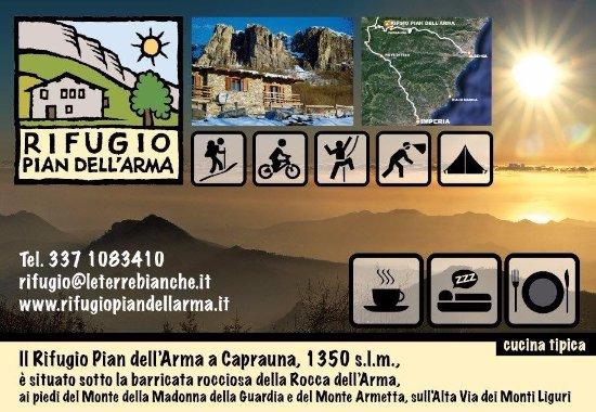 Caprauna, Italie : Il rifugio dove puoi fare tutto l'outdoor che preferisci