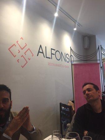 Alfonso Restaurante: Battesimo da Alfonso